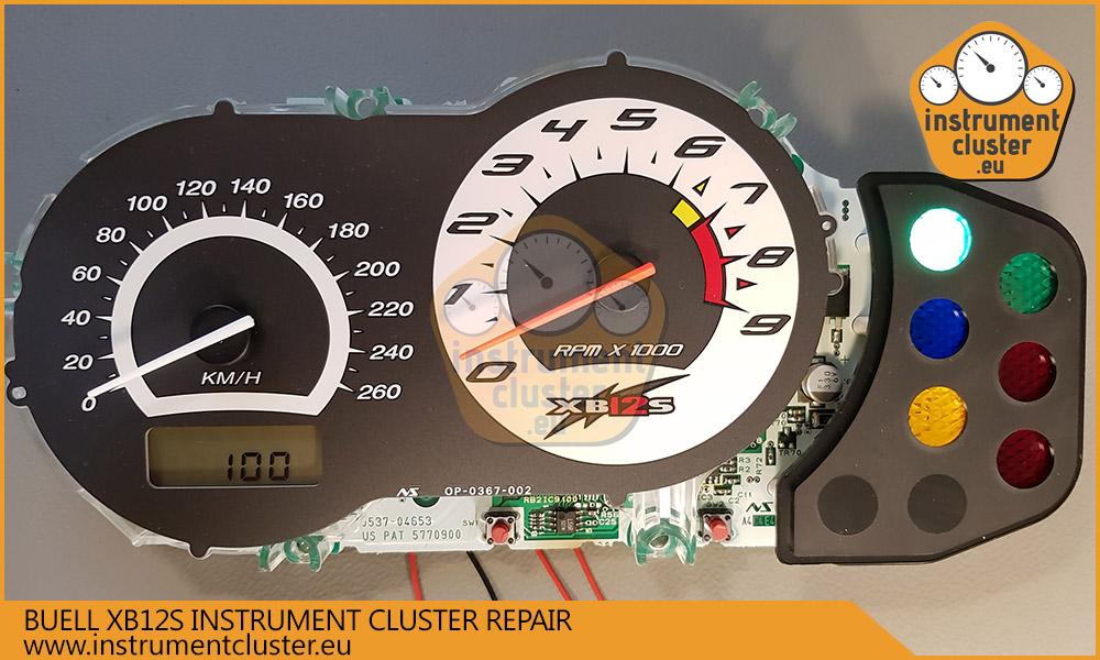 Buell speedometer electronics repair  | instrumentcluster eu