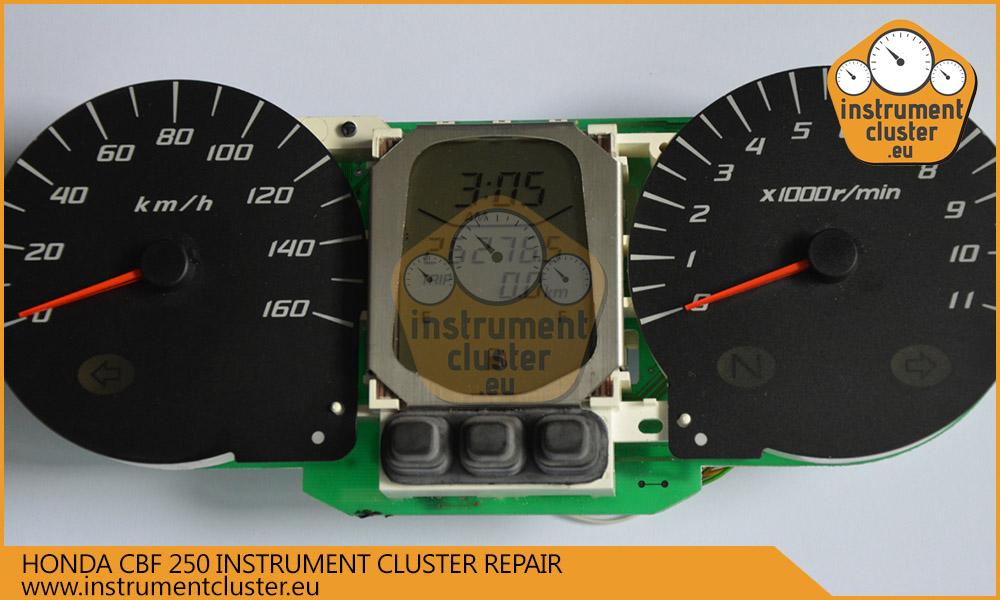 Honda CBF 250 speedometer programming and repairs