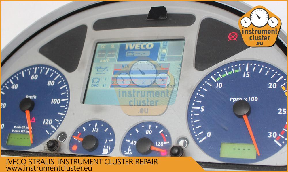 Iveco Stralis instrument cluster repair  | instrumentcluster eu
