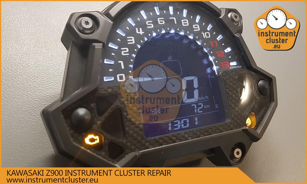 Kawasaki Z900 speedometer repair | instrumentcluster eu